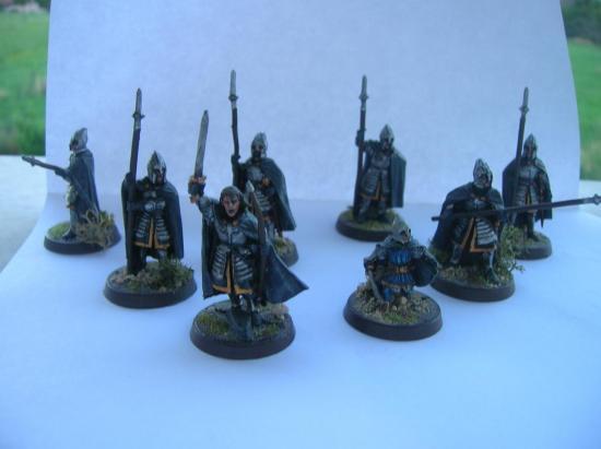 Les gardes de la citadel
